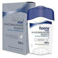 Rexona Men Антиперспирант крем Чистота и уверенность