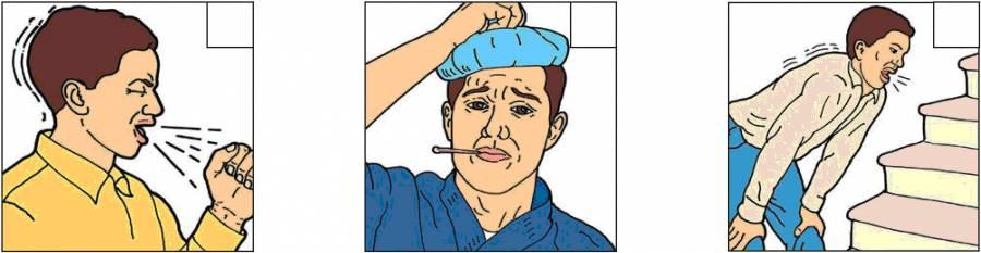 Кашель, температура и боль в области груди - симптомы туберкулеза