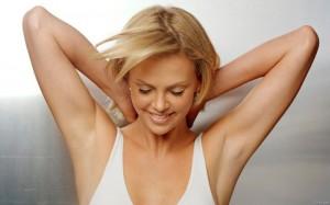Не забывайте вымывать кожу перед нанесением дезодоранта