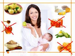 Кормящей маме необходимо сбалансированное питание
