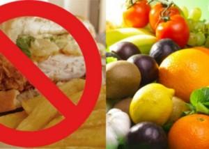 Здоровая пища - залог нормального потоотделения